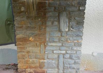 aerogommage-cheminee-pierre